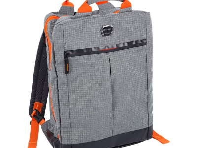 COACHBAG GREY/ORANGE