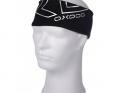 SHINY HEADBAND BLACK/SILVER