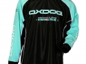 TOUR GOALIE SHIRT BLACK/TIFF BLUE