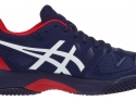 Asics Gel-Resolution 8 Clay GS - peacoat/classic red